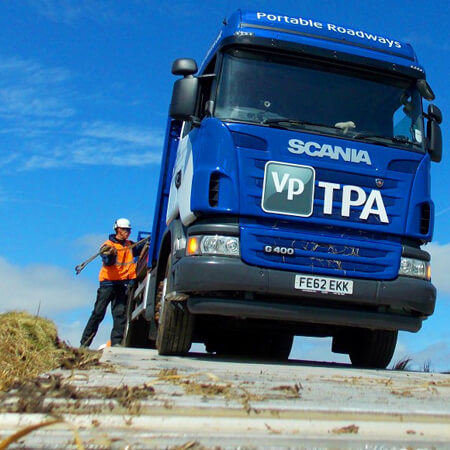 Vp Worker loading a Lorry